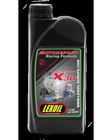 Huile moteur kart  Lexoil  X30