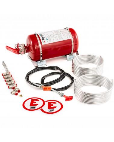 Extincteur automatique mécanique OMP SPORT acier 4.25 L