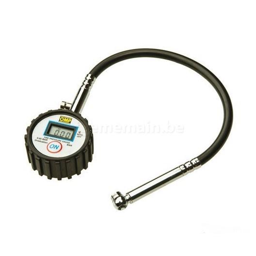 OMP digital tyre pressure gauge