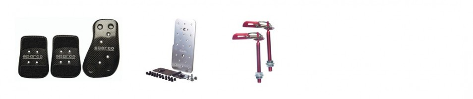Pedal sets & fasteners