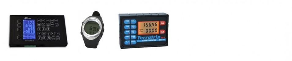 Trip meters & lap timing