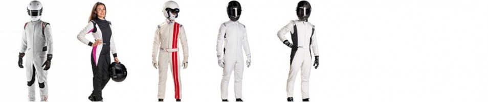 FIA auto race suits